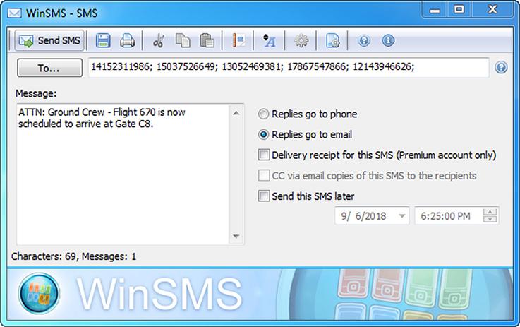 windows text messaging