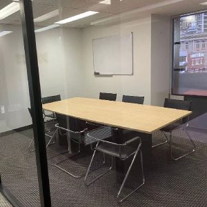 Conference room of Red Oxygen's Brisbane office